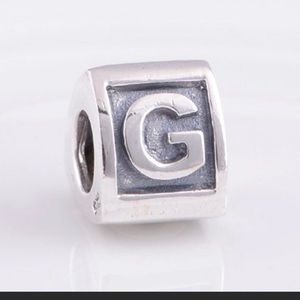 Pandora Letter G Charm